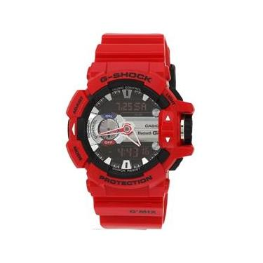 Relógio Casio G-shock G`mix Gba-400-4adr Vermelho