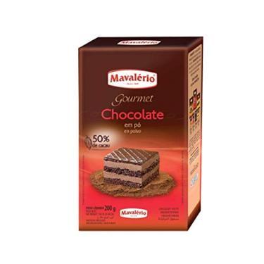 Chocolate em Pó Solúvel 50% Cacau 200g - Mavalério