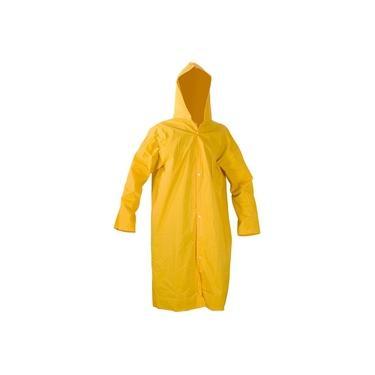 Imagem de Capa de chuva pvc com forro g amarela ca11125 - Vonder