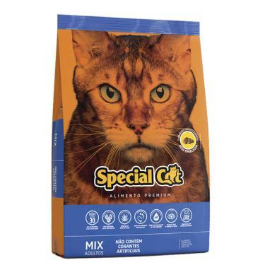 Ração Special Cat Mix Premium para Gatos Adultos - 3 Kg