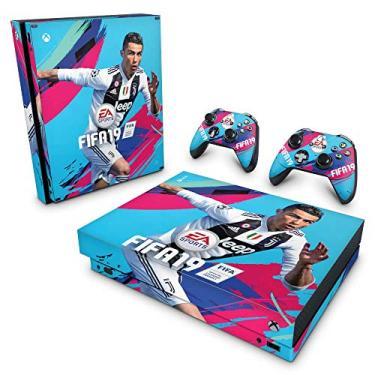 Skin Adesivo para Xbox One X - Fifa 19