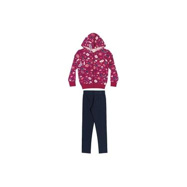 Conjunto Infantil Feminino Inverno Rosa Hits Elian