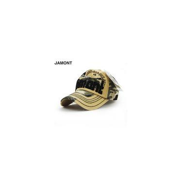 Jamont na moda à moda camuflagem Patchwork Duck Tongue boné de beisebol 11260