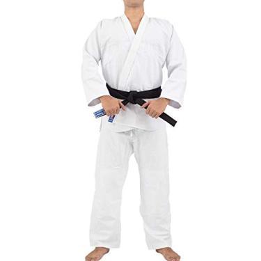 Kimono Trançado Training Judô/Jiu-Jitsu Torah - Branco