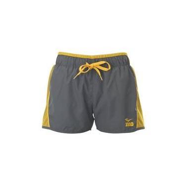 Shorts Cinza E Amarelo Everlast