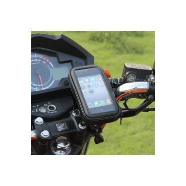 Suporte para Celular Smartphone no Guidão da Moto Bike Prova D Agua e Resistente