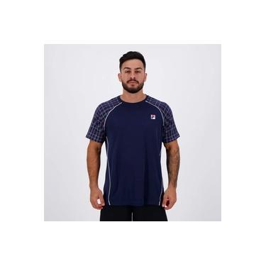 Camiseta Fila Cinci Square Marinho
