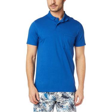 Camisa Polo tradicional malha, Malwee, Masculino, Azul, GG
