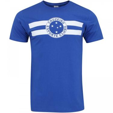 Camiseta do Cruzeiro Logo - Masculina Xps Sports Masculino