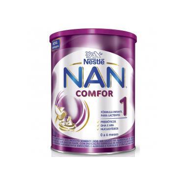 Nan Comfor 1 Fórmula Infantil Nestlé Lata 800g