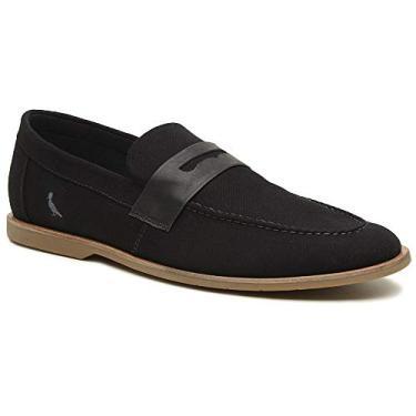Sapato Casual Henry Masculino Reserva Lona Mistral Preto, 41