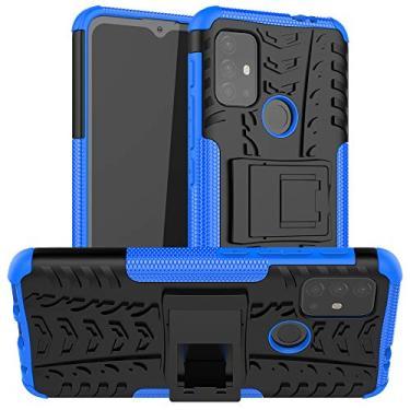 N\B Capa para Moto G10, capa híbrida para Moto G10, proteção de camada dupla à prova de choque, capa híbrida resistente com suporte para Motorola Moto G10
