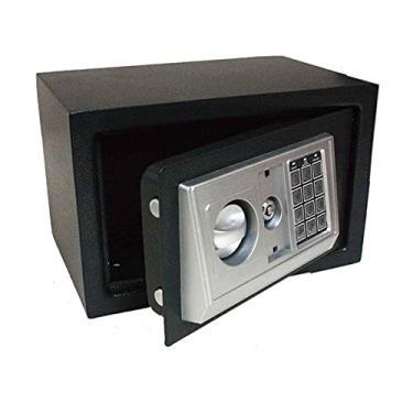 Imagem de Cofre Eletrônico Digital Segredo Senha 30x20x20cm Chave Aço