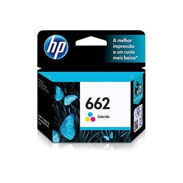 Cartucho de Tinta HP 662 Tricolor - CZ104AB - HP