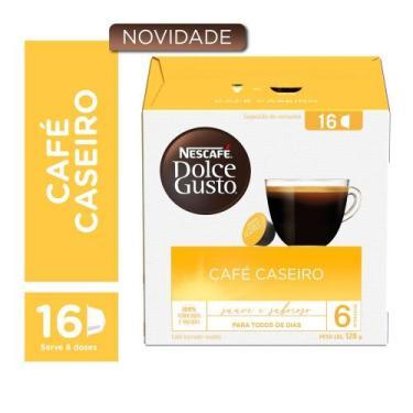 Capsulas Dolce Gusto Café Caseiro 16 capsulas - Nescafé dolce gusto