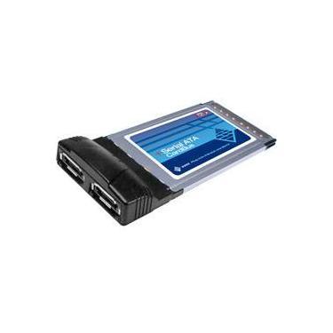 Adaptador PCMCIA c/ 2 Portas Sata - Sunix