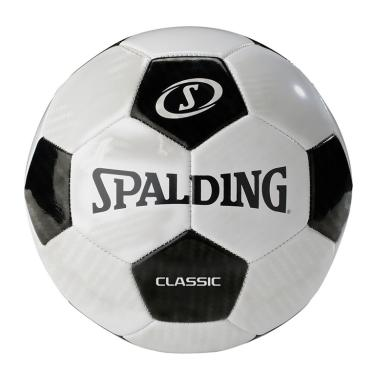Bola de Futebol Classic 64919Z Spalding - Preta