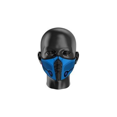 Máscara de Proteção Tecido Personalizada Mortal Kombat Sub Zero