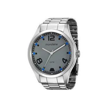 5c9fb6c5d67 Relógio de Pulso Masculino Mondaine Aço