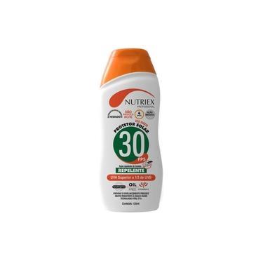 Protetor Solar FPS 30 com Repelente 120 ML Bisnaga NUTRIEX