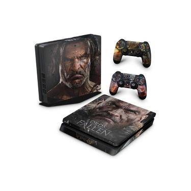 Skin Adesivo para PS4 Slim - Lords Of The Fallen