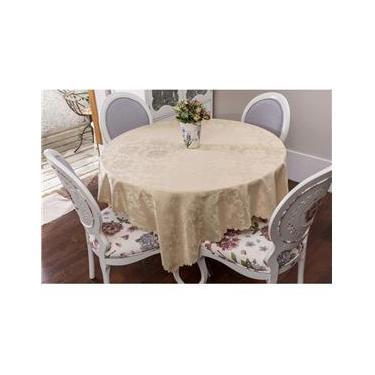 Imagem de Toalha de mesa - Retangular - Jade Bege - 170 cm x 270 cm