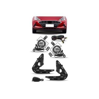 Kit Farol De Milha Neblina Hyundai Hb20 Hb20S 2020 2021