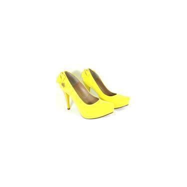 956fe45606 Sapato Feminino Amarelo