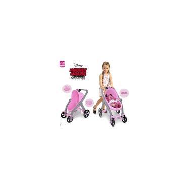 Imagem de Brinquedo Meninas Carrinho Minnie Mouse Para Boneca Roma