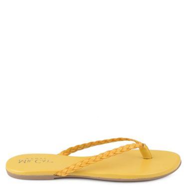 Sandália Mr. Cat Amarelo  feminino