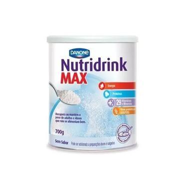 Nutridrink Max Sem Sabor Lata 700g - Danone