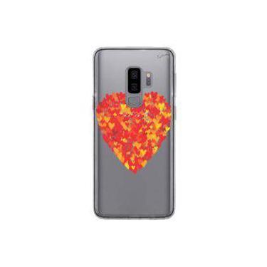 Capa Personalizada para Samsung Galaxy S9 Plus ( S9+ ) - CORAC¸O~ES S2. - Quark
