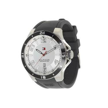 d58344ae23b Relógio Tommy Hilfiger 1790863 Masculino Grey Silicone Band