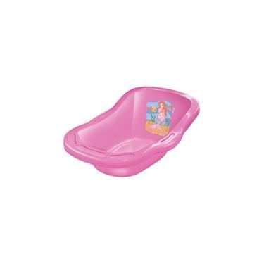 Imagem de Banheira De Banho Para Boneca Rosa 50Cm- LIDER