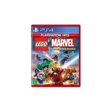 Jogo Lego Marvel Super Heroes Hits Ps4