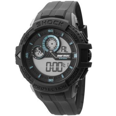 d627514c5d7 Relógio Masculino Mormaii Preto - MO3900 8V MO3900 8V
