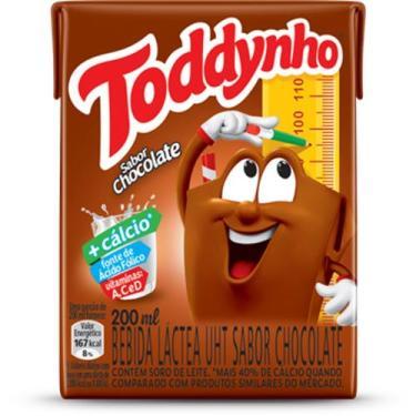 Achocolatado Toddynho com 27 unidades de 200ml