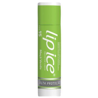 Protetor Labial Lip Ice Maçã Verde FPS 15 com 3,5g 3,5g