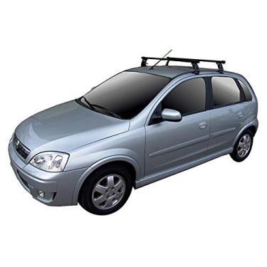 Rack Long Life Em Aço Para Carros Sem Calha Novo Corsa Hatch E Sedan - 4 Portas (A Partir De 2004 - Exceto Classic)