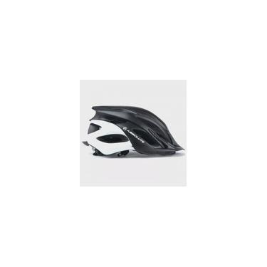 Imagem de Capacete Ciclismo Absolute Wild Preto e Branco Fosco Com Luz De Led Pisca
