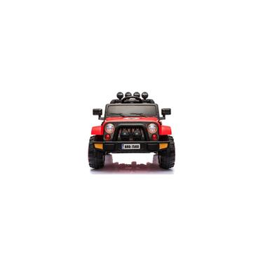 Imagem de Mini carro jipe 12v com 2 motores e controle remoto vermelho - Bangtoys