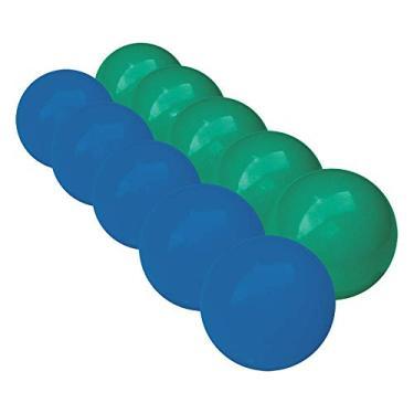 Bola de Sinuca e Bilhar Mata-mata 54 mm 10 Peças Azul x Verde