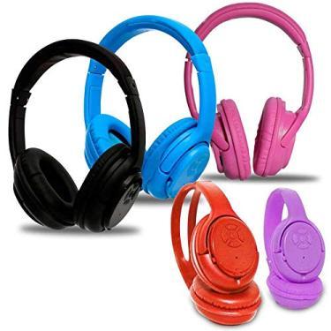 FONE DE OUVIDO BLUETOOTH MP3 WMA HEADSET COM FM E ENTRADA SD ALCANCE 10M UNIVERSAL TODAS AS MARCAS