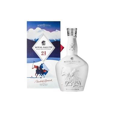 Whisky Royal Salute Polo Blended Grain 21 Anos 700ml Embalagem