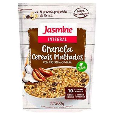 INTEGRAL GRANOLA CEREAIS MALTADOS - 300g, Jasmine
