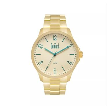 4bc10c7c997 Relógio Masculino Dumont Analógico DU2035LVU 4X Dourado
