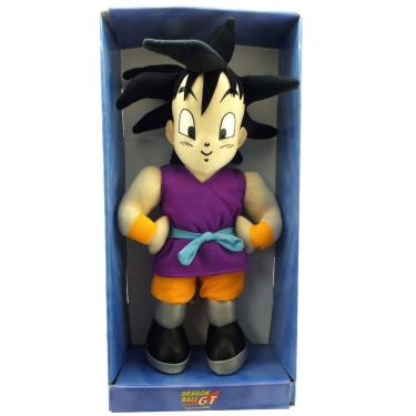 Boneco Goku Jr Dragon Ball Gt De Pelucia