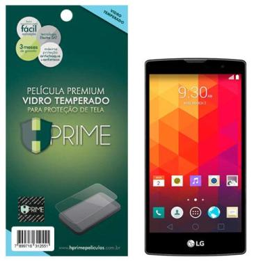 Pelicula de Vidro temperado 9h HPrime para LG Prime Plus H502 (Magna), Hprime, Película Protetora de Tela para Celular, Transparente
