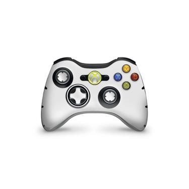 Skin Adesivo Para Xbox 360 Controle - Branco