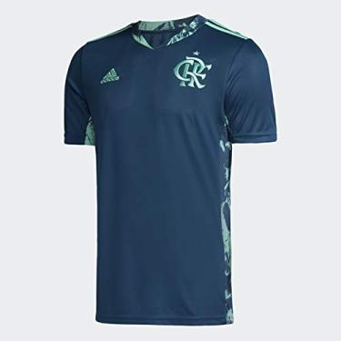 Camisa de Goleiro CR Flamengo I Adidas Azul 2020 ED9163 (M)